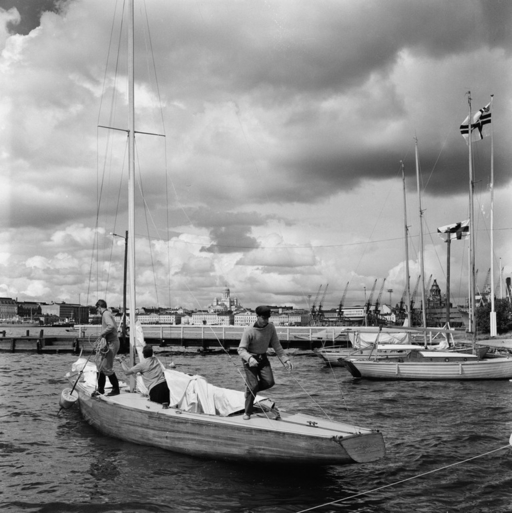 Curt Mattson's Marilyn departing from NJK in 1966