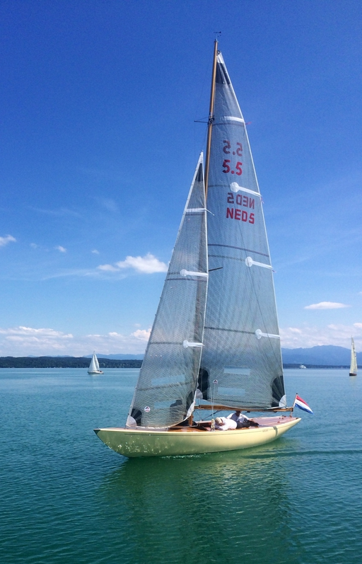 """5.5 NED 5 """"Gilliat"""" Vintage Classic Meeting 2014"""
