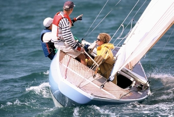Sailing in the waters of Noirmoutier 1