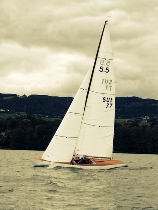 """5.5 SUI 77 """"Skylla"""" - back on the Lake of Geneva"""
