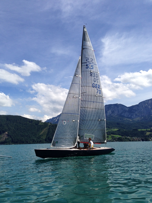 "5.5 AUT 25 ""Magellan"" - on Attersee"