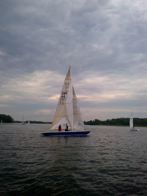 "5.5 SWE 64 ""Arunga III"" - racing in Berlin"