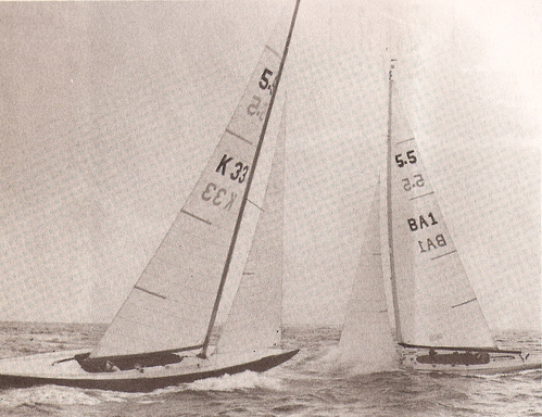 Lord Jim - FRA 28 (sailing with former sail number K 33)