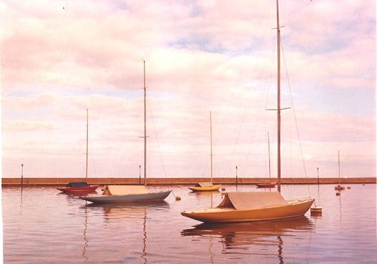 5.5's at Menominee, Michigan marina