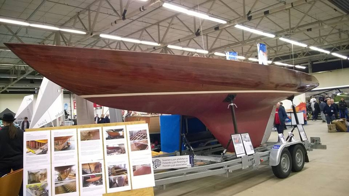 Trial at the Turku Boat Show fall-16