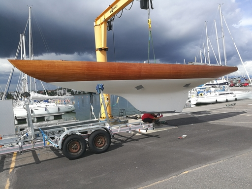 "5.5 FIN 41 ""Remi"" - during refit"