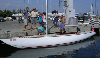 Re-launch after restauration in Versoix