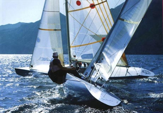 Lake of Garda, sometime around 1992 ?
