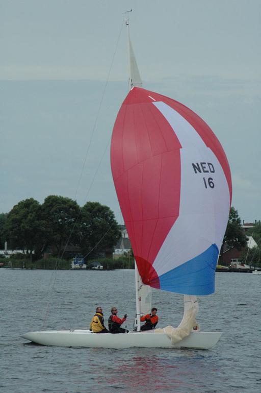 NED-016 at Braassem Summer Regatta