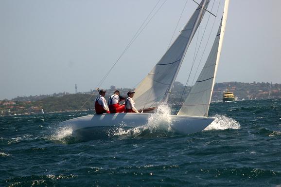 PAM on Sydney Harbour
