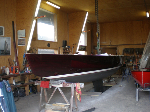 5.5 SUI 130 - at the Kolly boatyard