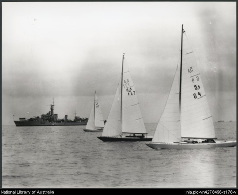 1956 Olympics in Melbourne
