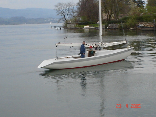 Launched in Zürichsee...