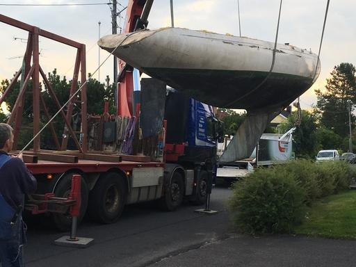 "5.5 SWE 59 ""Arunga"" - hull"