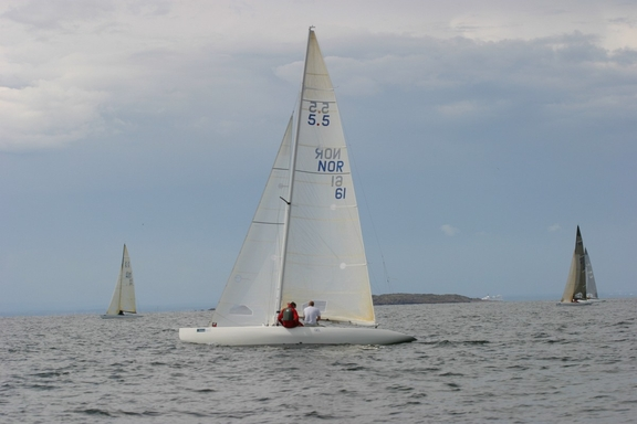Hankø sailing with nice breeze.