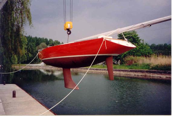 Sirocco with original rudder