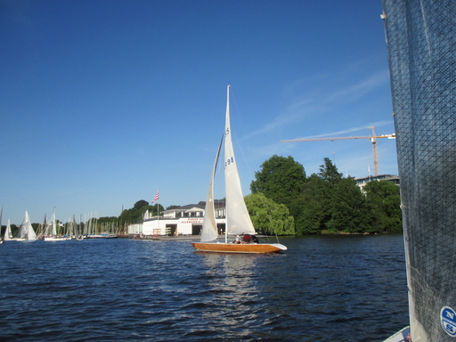 "5.5 GER 98 ""Viola"" - on the Alster Lake"