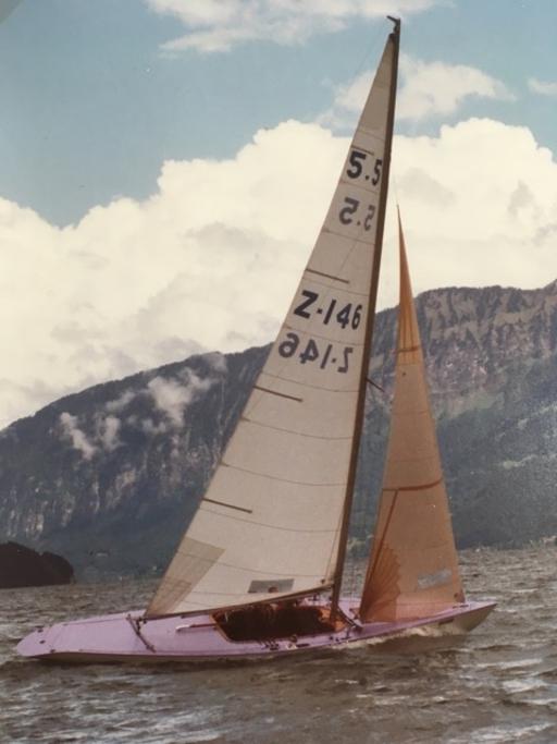 """5.5 Z-146 """"Nina"""" - upwind"""