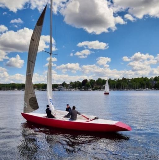 """5.5 GER 112 """"Pink"""" - on Wannsee"""