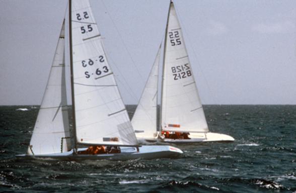 Kungsörnen & Joker 5 in the Bahamas 1981