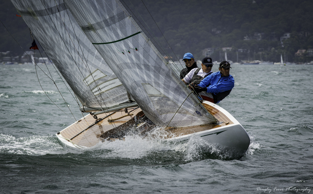 Antares charging to windward in 2019 Australian Nationals