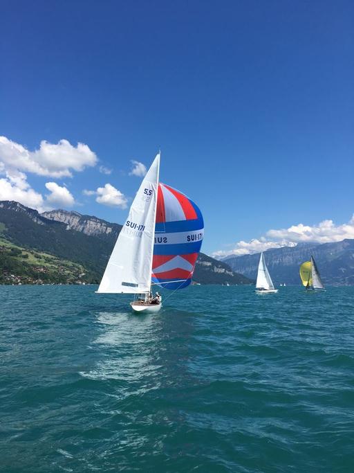 On the lake of Thun 2017