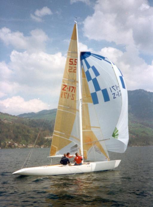 On the lake of Thun, 1994