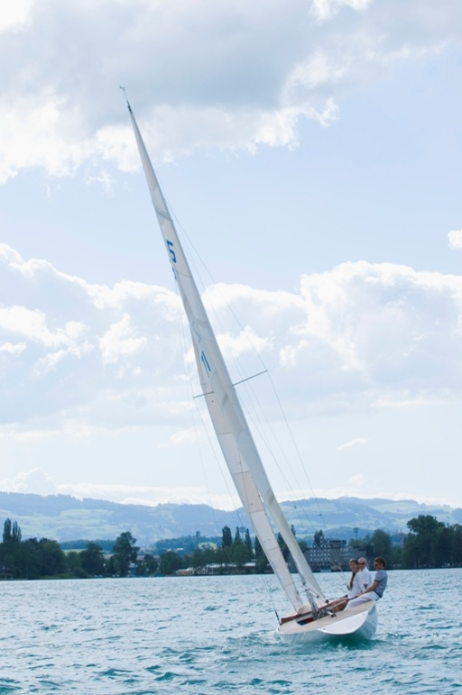 Nice Sailing on the Lake of Thun, Summer 2008