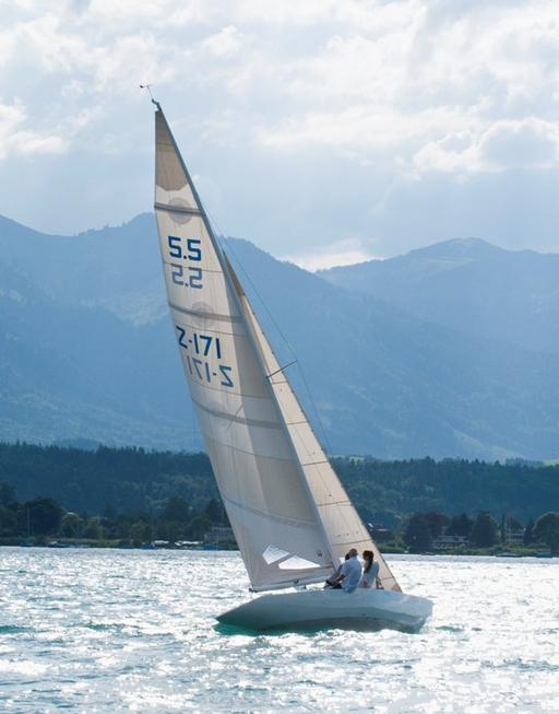 Nice Sailing on the Lake of Thun, Summer 2008