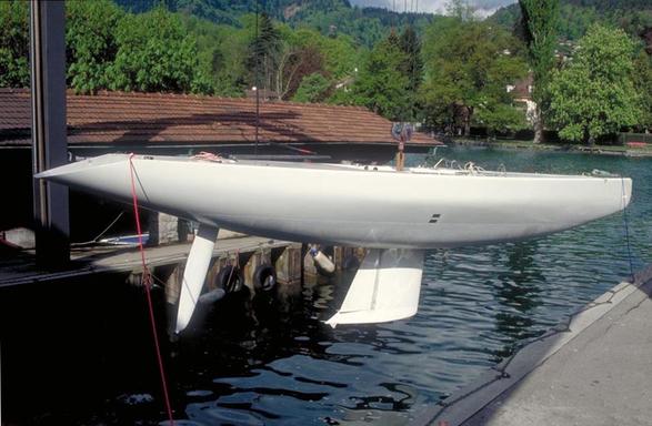 Launch in Thun at Ruedi Furer facilities, summer 1993...