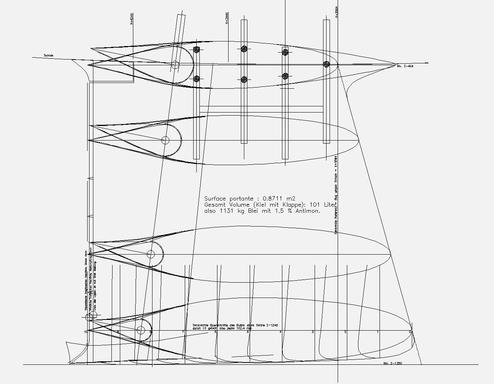 SUI-193 original exclusive fin-keel