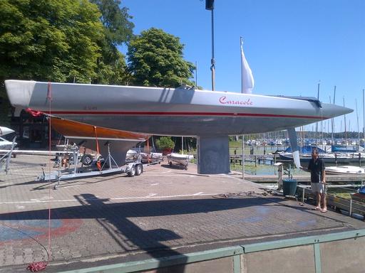 """5.5 SUI 214 """"Caracole"""" - best Swiss boat in Berlin"""