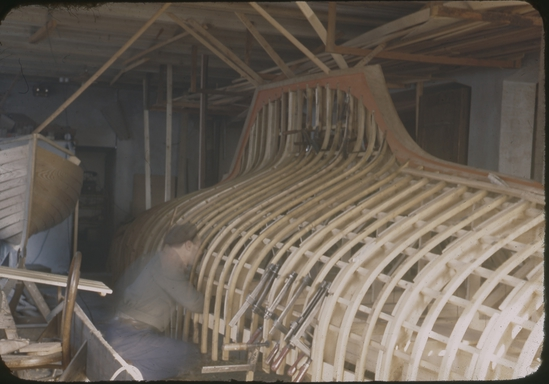 5.5 Z-5 - being built at the BOESCH boatyard
