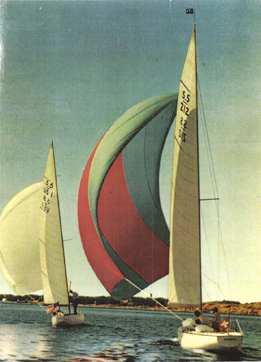 Sailing together with Z-12 (SUI-012)