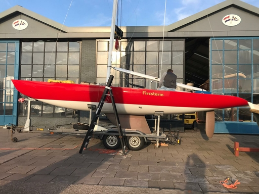 "5.5 NED 20 ""Firestorm"" - refit completed"