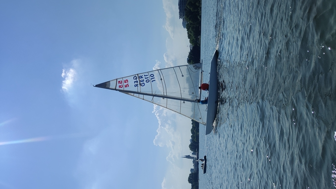 """5.5 GER 110 """"Pittwater"""" - on the Alster"""