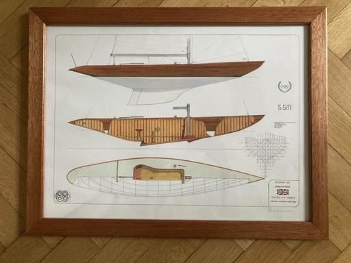 """5.5 K 35 """"Yeoman XV"""" - artist's view"""