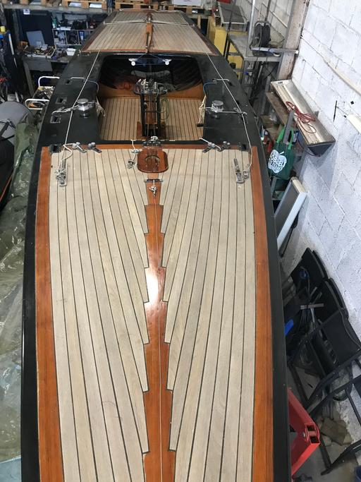 """5.5 NOR 52 """"ShoShana"""" - deck"""