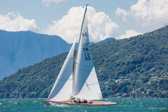 "5.5 ITA 43 ""San Michele"" - on Lago di Como"