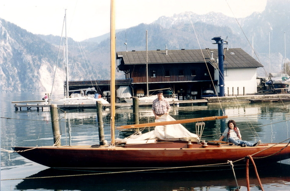 5.5mR on Lake Traunsee