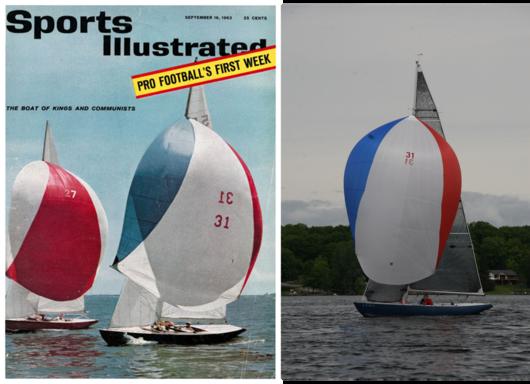 1963 SI Cover and 2019 North American Regatta