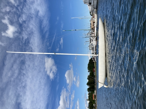 5.5 NOR 40 - on her mooring