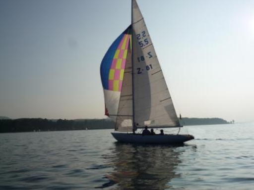 First sailing trial by the new owner