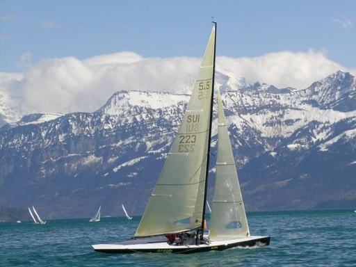 Racing the Niesencup, Lake Thun (SUI)...