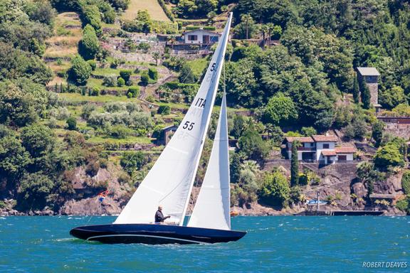 """5.5 ITA 55 """"Rabicano"""" - on Lago di Como"""