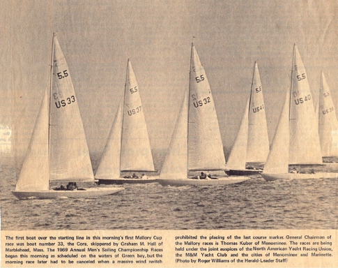 5.5's race in Menominee, Michigan in 1969